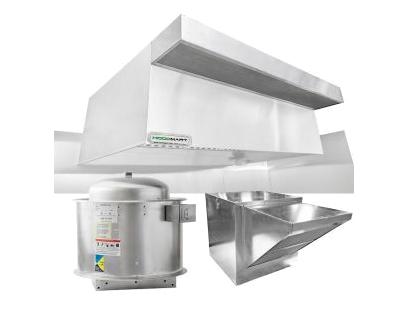 Commercial Kitchen Ventilation Exhaust Hoods Hoodmart