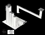Single Wall Kit - Straight w/ 2 - 90's