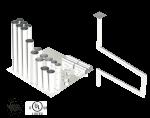 Single Wall Kit - Straight w/ 4 - 90's