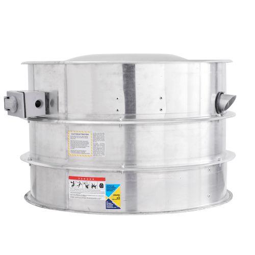 Belt Drive Centrifugal Upblast Hurricane Exhaust Fan 3000 CFM, 1339 RPM, 1PH
