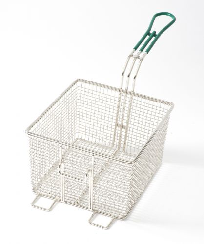 "NAKS Countertop Fryer Basket 8 3/4"" x 8 1/4"" x 5 3/4"""