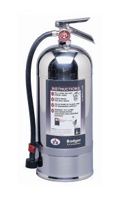 Badger Class K Wet Chemical Fire Extinguisher