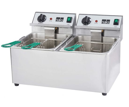 NAKS 30 lb UL Listed Commercial Countertop Deep Fryer