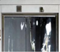 PLASTIC STRIP CURTAIN 42X84 STD DOOR