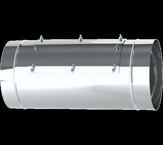 """16"""" Diameter Grease Duct Inline Access Door Length"""