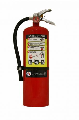 BADGER ADVANTAGE DRY CHEMICAL PORTABLE FIRE EXTINGUISHER