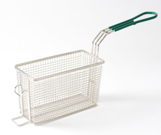 "NAKS Countertop Fryer Basket 8 3/4"" x 4 1/4"" x 5 3/4"""