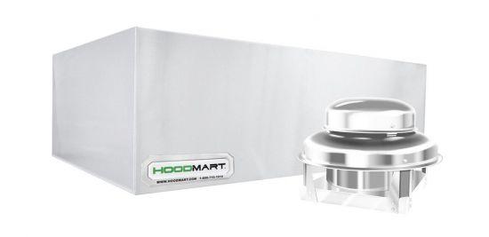 """HoodMart Condensate Hood Type 2 - 12' x 48"""""""
