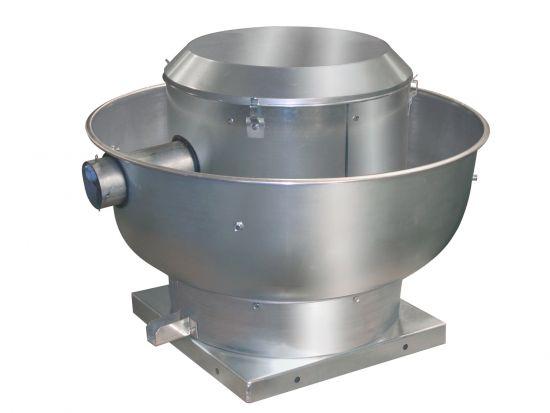 Centrifugal Upblast Direct Drive Exhaust Fan 1 PH, 1800 - 3725 CFM