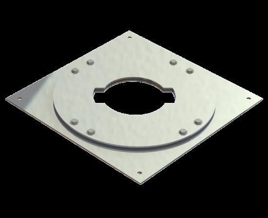 "12"" Diameter Plate Support"