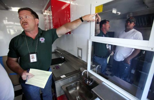 Breezing Through a Food Truck Health Inspection