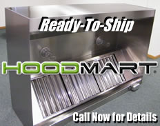 exhaust hoods ready-to-ship